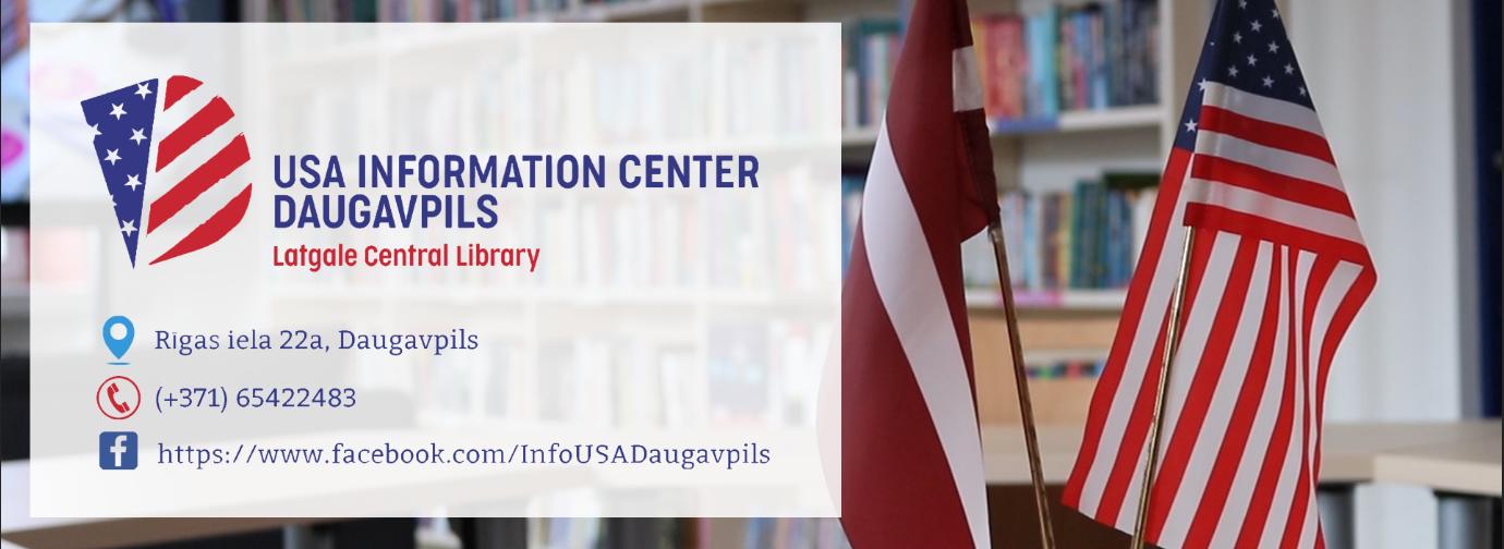 Iepazīšanās video ar ASV Informācijas centru