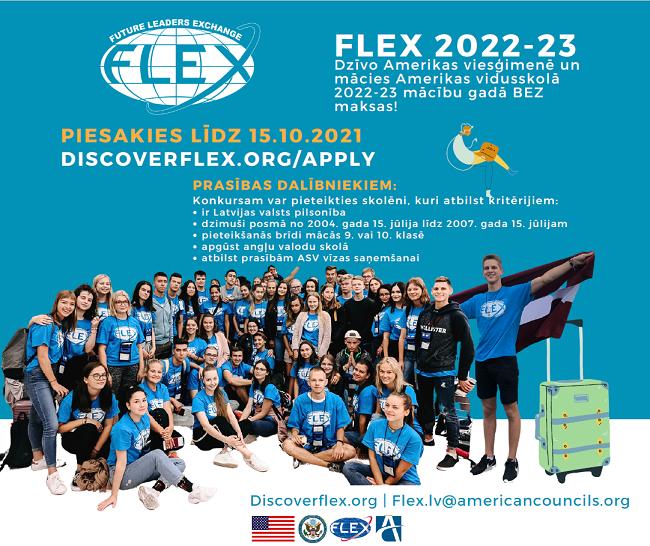 Afiša FLEX programmai